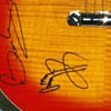 Micheals Riffathon 2003 prize signed by Jimmy Page & Bryan May